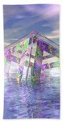 Floating Fractal Beach Towel