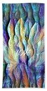 Floating Lotus - Love Beach Towel