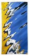 Floating On Blue 33 Beach Towel