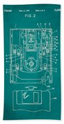 Floppy Disk Assembly Patent Drawing 1c Beach Towel