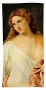 Flora Beach Towel by Titian