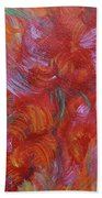 Floral Abstract, Sunshine Bouquet Beach Towel