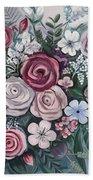 Floral Boom Beach Towel