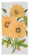 Floral Botanicals-jp3785 Beach Towel