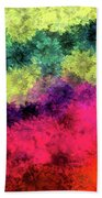 Floral Decay Beach Towel