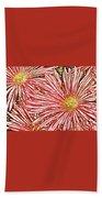 Floral Design No 1 Beach Towel