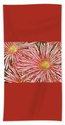 Floral Design No 1 Beach Towel