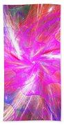 Floral Explosion Beach Towel