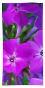 Floral Expression 2 021911 Beach Towel by David Lane