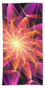 Floral Expressions 3 Beach Towel