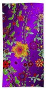 Floral Fantasy 122410 Beach Towel