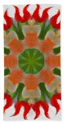 Floral Flare Beach Towel