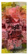 Floral Flux Beach Towel