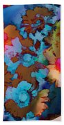 Floral Hotty Totty Differs Beach Towel