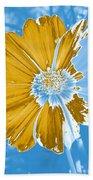 Floral Impression Beach Towel