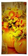 Floral In Ambiance Beach Towel