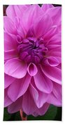 Floral In Pink Beach Towel