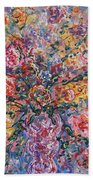 Floral Melody Beach Towel