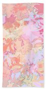 Floral Menagerie Beach Towel
