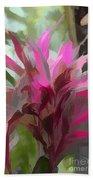 Floral Pastel Beach Towel by Tom Prendergast