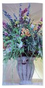 Floral  Piece Beach Towel