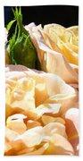 Floral Roses Garden Art Prints Baslee Troutman Beach Towel