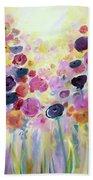 Floral Splendor IIi Beach Towel