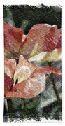 Floral Spring Tulips 2017 Pa 02 Beach Towel