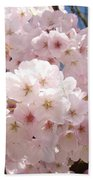 Floral Tree Blossoms Flowers Pink Art Baslee Troutman Beach Towel