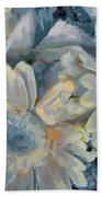 Floral Vegged Out Wow Beach Towel
