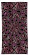 Florametric Mandala-12 Beach Towel