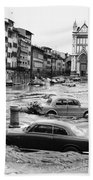 Florence: Flood, 1966 Beach Towel