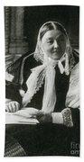 Florence Nightingale, English Nurse Beach Towel