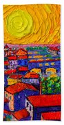 Florence Sunset 12 Beach Towel