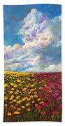 Flores De Mexico Beach Towel