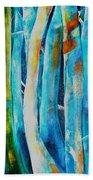 Floresta Azul Beach Towel