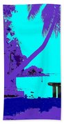 Florida Blues Beach Towel