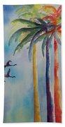 Florida Color Beach Towel