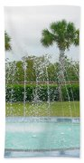 Florida Fountain Beach Towel