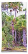 Florida Greens Beach Towel