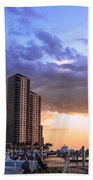 Florida Highrise Beach Towel