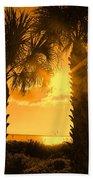 Florida Orange Beach Towel