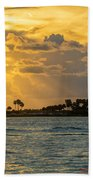Florida Sunset-3 Beach Towel