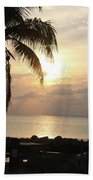 Florida Sunset Beach Towel