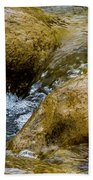 Flow Through And Eddy Beach Towel