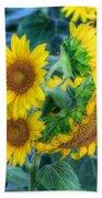 Flower #40 Beach Towel