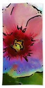 Flower 8-15-09 Beach Towel