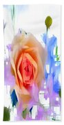Flower 9296 Beach Towel