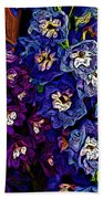 Flower Arrangement II Beach Towel