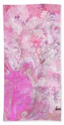 Flower Art The Scent Of Love Is In The Air Beach Towel